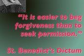 St. Benedict via Pink Cake