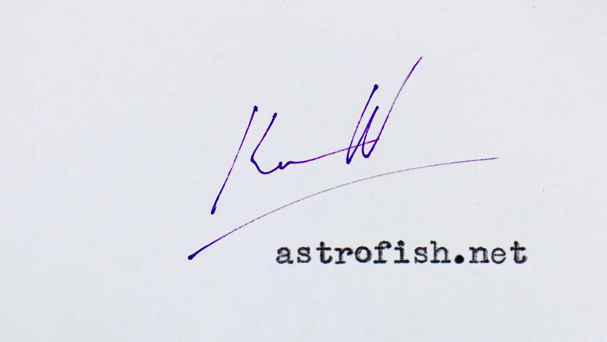 astrofish.net logo for Stripe